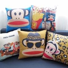 Moneky большой рот милый коллекции подушка Массажер декоративные подушки путешествия домашнего декора дома Популярная Поп-подарок для детей
