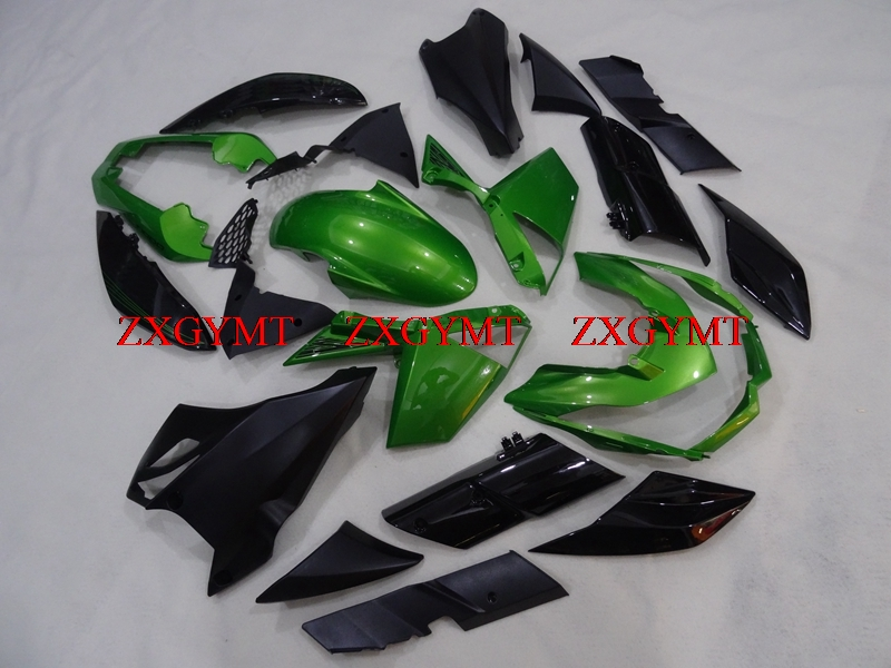 Bodywork for Z 1000 2010 - 2013 STREET EDITION Fairings Z 1000 10 11 Green Black Fairing Kits Z 1000 2012Bodywork for Z 1000 2010 - 2013 STREET EDITION Fairings Z 1000 10 11 Green Black Fairing Kits Z 1000 2012