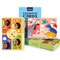Kinder Sensorischen Spielzeug Montessori Materialien Cognitve Geschichte Karte Pädagogisches Juguetes Montessori Spielzeug Für Kinder Lernen Spielzeug auf
