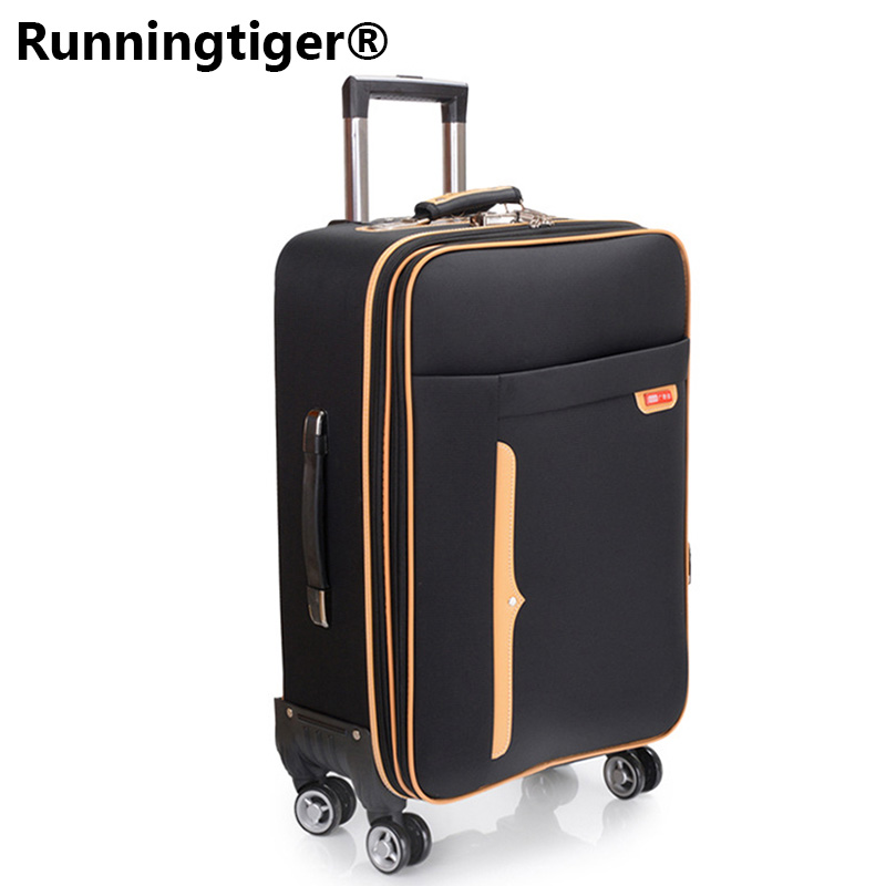 Oxford Trolley Wheeled Suitcase Business Large Travel Bag 2024 Luggage Bag Mens / Womens Canvas Luggage Rolling LuggageOxford Trolley Wheeled Suitcase Business Large Travel Bag 2024 Luggage Bag Mens / Womens Canvas Luggage Rolling Luggage