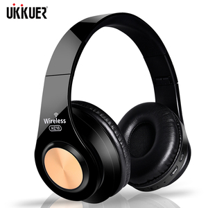 Image 1 - Wireless Headphones Bluetooth Headset Foldable Stereo Headphone Gaming Earphones Support TF Card With Mic For PC All phone Mp3