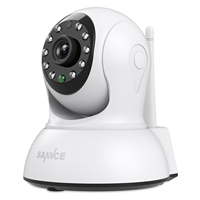 SANNCE HD 720P Mini Wi Fi Camera Wireless 10ft Power Cable IP Sucurity CCTV Camera Wifi