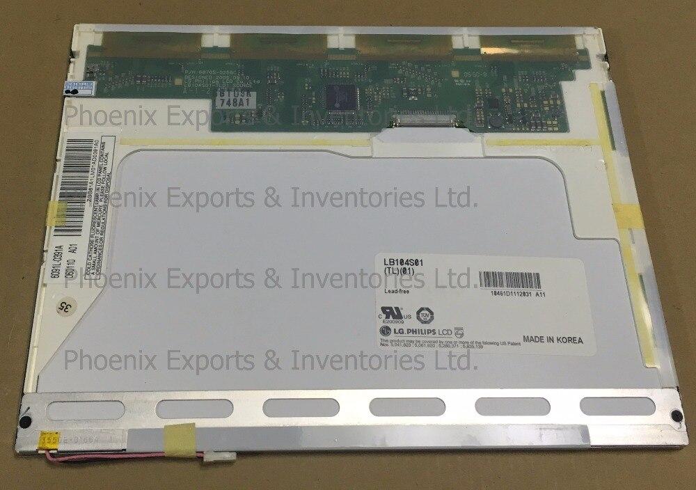 Original LB104S01 TL 01 10 4 800 600 LCD DISPLAY PANEL LB104S01 TL01 LB104S01 TL01