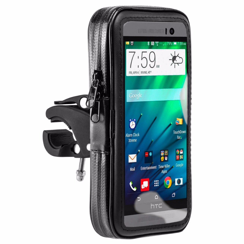 Bike Motor Waterproof Bag Case Holder For One M8 M8s M9 5 55 Inch Pouch Smartphone Medium Phone Motorcycle Bicycle Cases