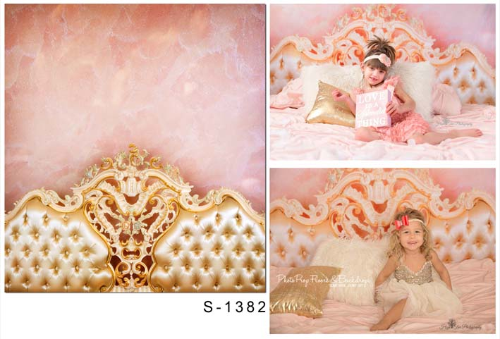 Pink bed back background for girls photo shooting vinyl  photography backdrops fabric for photo studio background fotografia retro background christmas photo props photography screen backdrops for children vinyl 7x5ft or 5x3ft christmas033