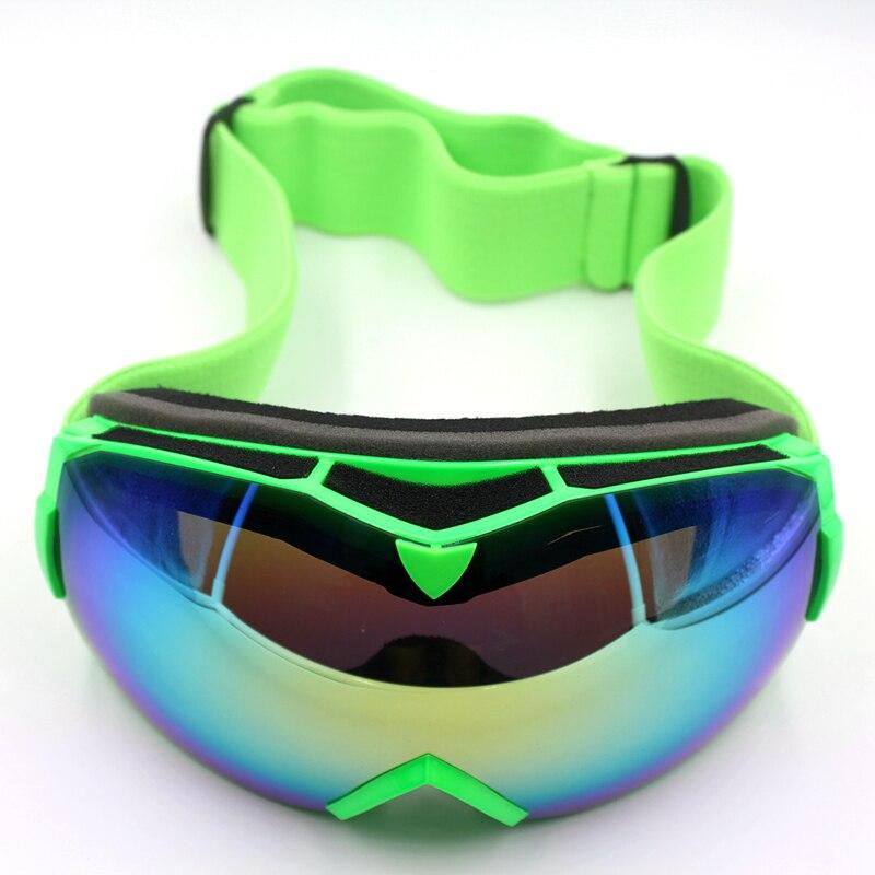 2d88474dcd3 Professional Ski Goggles Double Lens UV400 Anti-fog Adult Snowboard Skiing  Glasses Women Men Snow