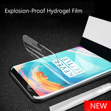 3D Soft Hydrogel Screen Protector For Oneplus 7 Pro 6T Film Full Screen Protector For Oneplus 3 5T 3T Protective Film Not Glass