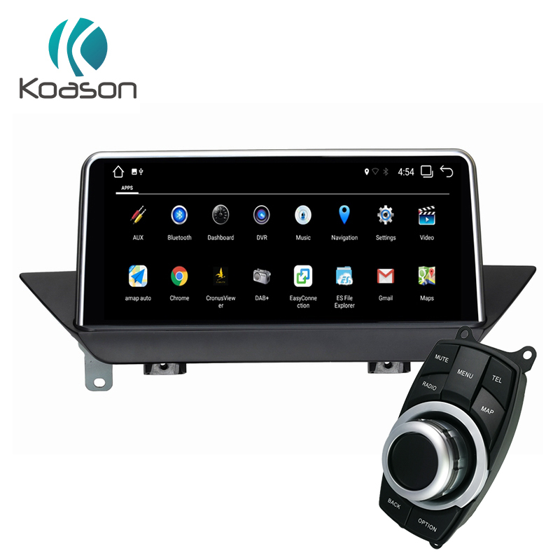 Koason android 9 0 GPS Navigation for BMW X1 E84 2009 2015 Wifi Bluetooth radio Audio touch screen idrive Car Multimedia Player in Car Multimedia Player from Automobiles Motorcycles