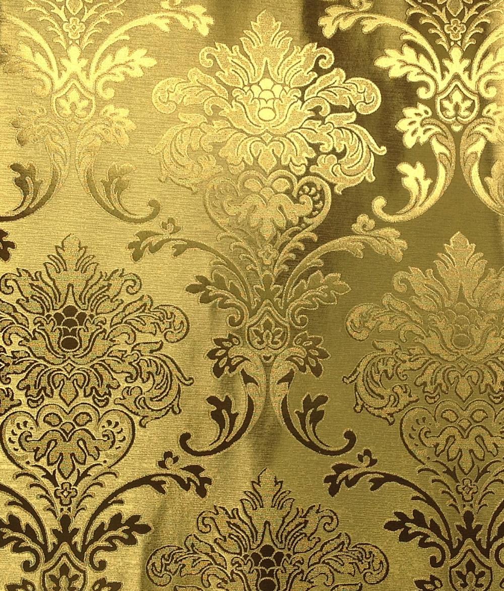 Lt6 60402 moda estilo moderno europeo del papel de for Papel de pared dorado