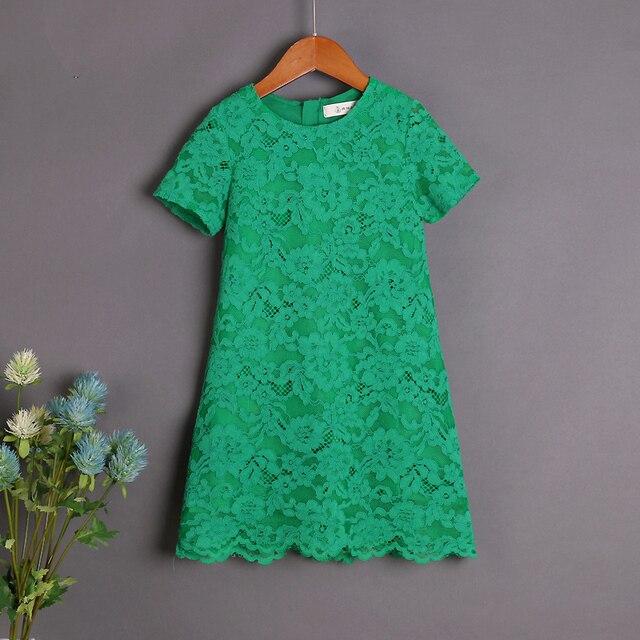 Design Kinderkleding.Brand Design Kinderkleding Mom Kids Meisje Groene Kant Rok Moeder