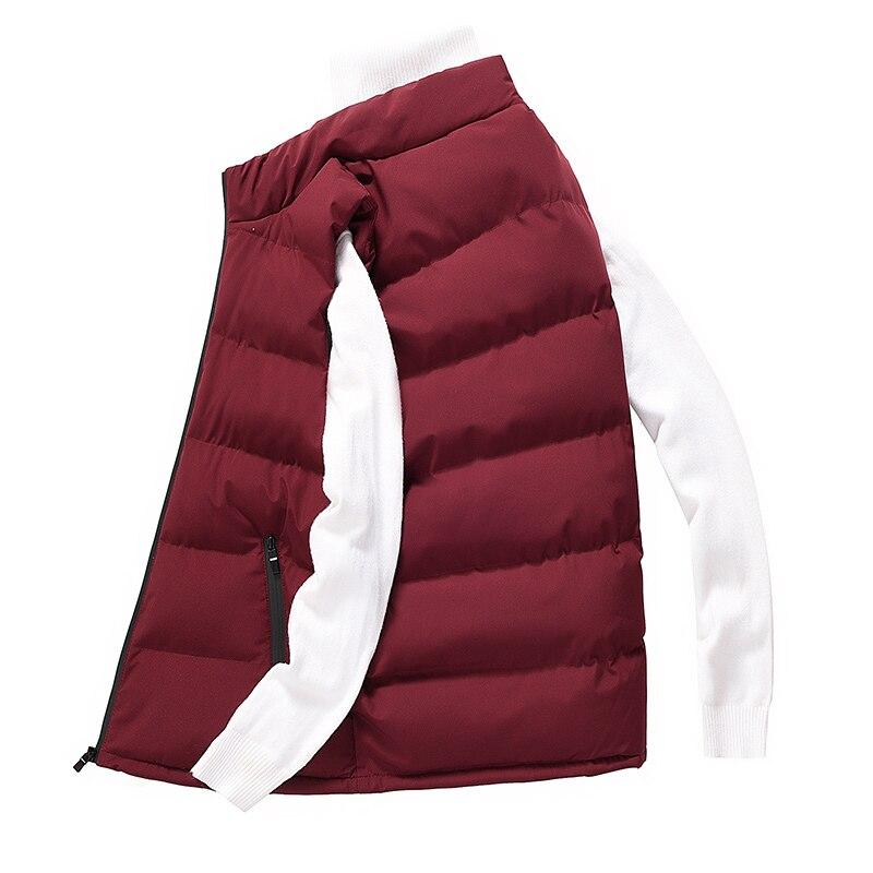 classic light men vest down korean streetwear clothing casual travel jackets male cloth vintage winter warm coat vests for men (13)