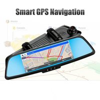 7 inch Professional Dual Lens Car DVR 3G Rear View Mirror Camera Full HD 1080P Dash Cam for Android 5.0