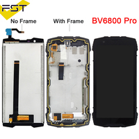 100% Tested Lcd Display with Touch Screen Digitizer For Blackview BV6800 Pro Lcd With Frame Assembly Replacement Parts