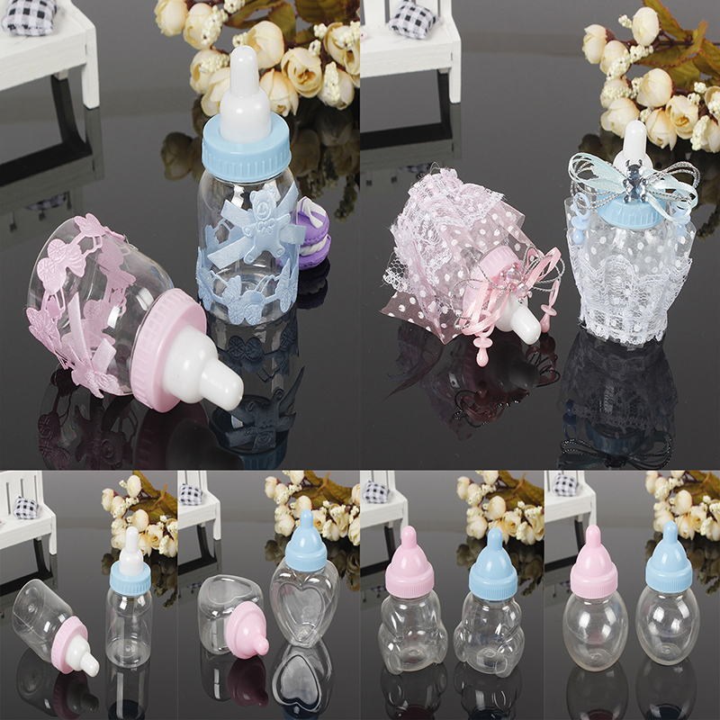 12PCS Baby Shower Crystal Glass Butterfly Pink Blue Decoration-Quinceñera Favors