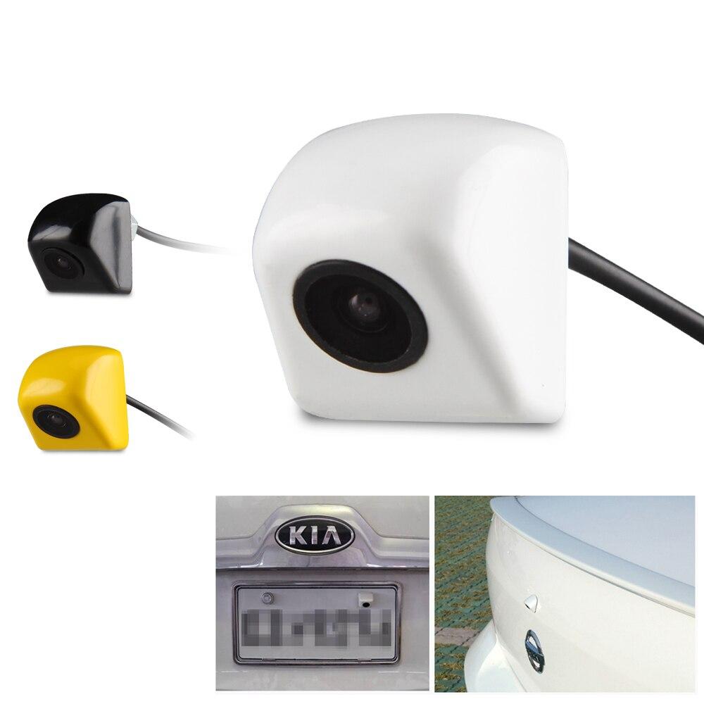 Car Rover Car Rear View Camera Night Vision Waterproof Car Parking Assistance Backup Reverse Camera Yellow