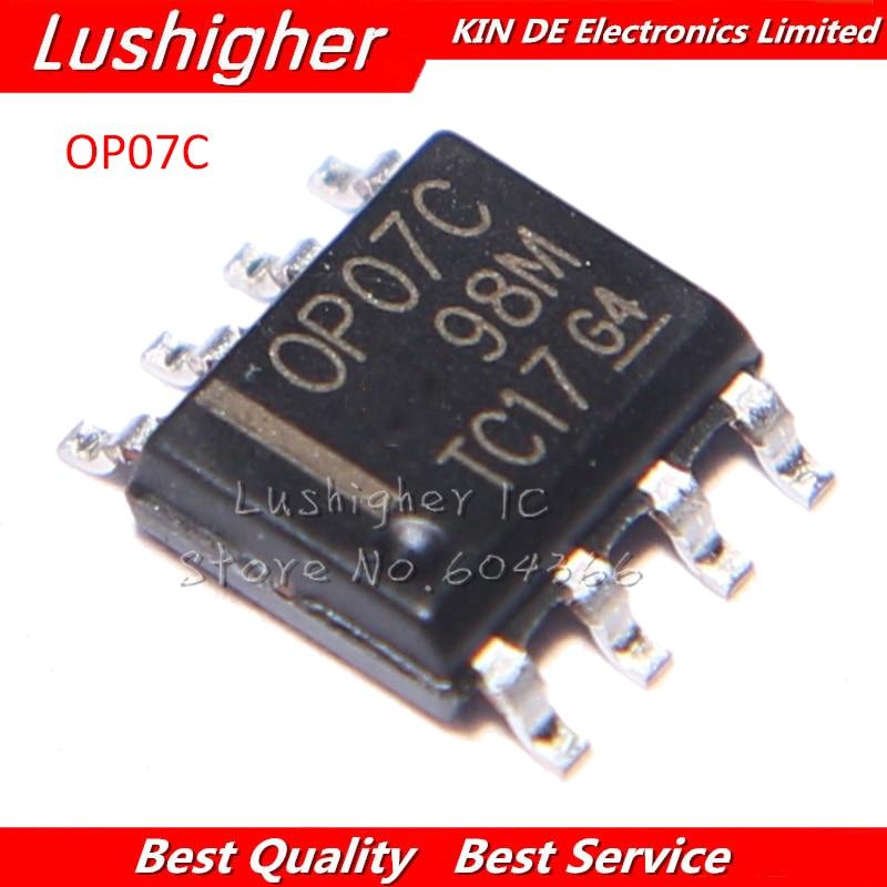 5pcs OP07C OP07 SOP-8 LOW-OFFSET VOLTAGE Op-Amp IC