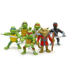 (6 pieces/ lot)Teenage Mutant Ninja Turtles cartoon explosion models perspective fridge magnet цена