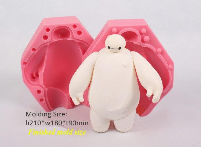 Livraison gratuite 3D Super Marine Fondant Silicone gâteau moule à la main savon moules chocolat moule décoration gâteau outils de cuisson FM487