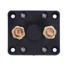Rotary Battery Disconnect Isolator Power Kill Cut OFF Switch 300A for Car Boat Marine Van Truck Rv Caravan