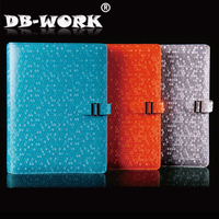 High grade sheet imitation leather notepad build business leather PU notebook gifts