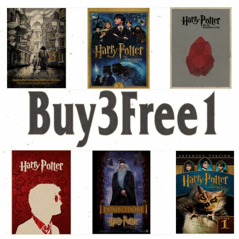 Home Decoration Stickers Posters Wall Stickersharry Potter And The Sorcerers Stone