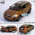 Precio de Volvo XC60 1:24 exquisita caja de regalo de lujo al por mayor Brown aleación modelo de coche de aleación