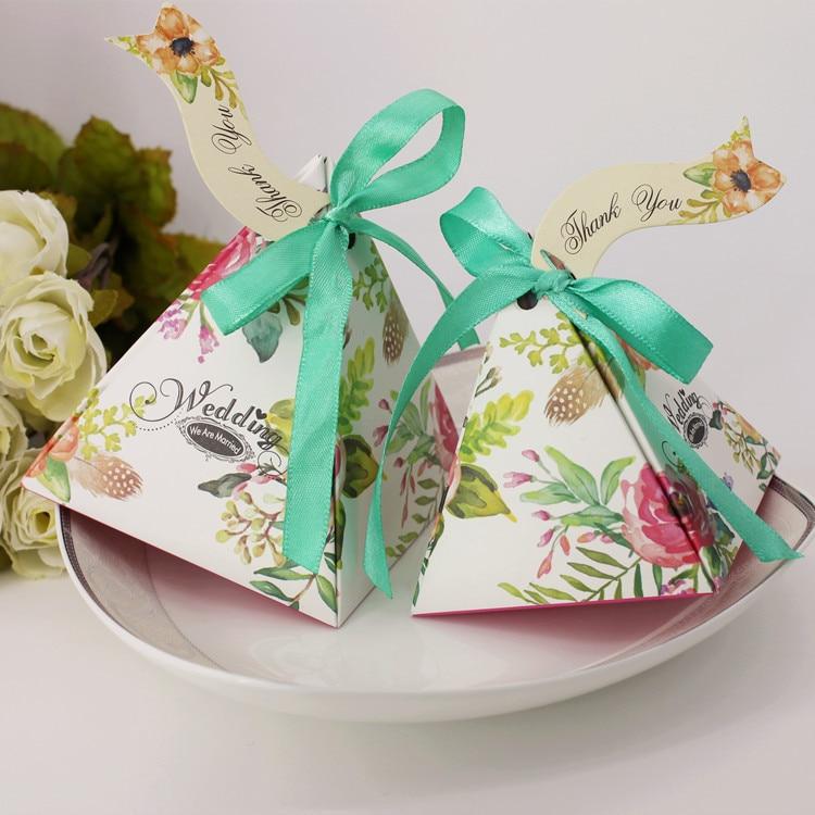 50pcs Secret Garden Candy Box Favor Gift Box Baby Shower