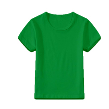 Christmas green T-shirts kids tees short sleeve blank tshirts 21colors mixed children candy personalized shirts