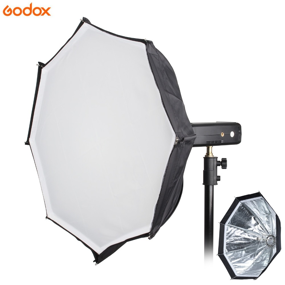 Godox Ad-s7 Multi-functional 45cm Umbrella Softbox Soft Box For WITSTRO Flash AD200 AD360II AD180 AD360 godox beauty dish ad s3 with grid ad s4 flash diffuser for witstro speedlite flash ad180 ad200 ad360 ad360ii