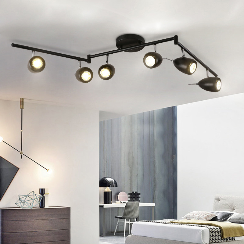 Nordic Modern Concise Individuality Adjustable Ceiling Light Restaurant Livingroom Bedroom Aisle Decoration Lamp Free Shipping modern simple retro industrial style ceiling light livingroom bedroom restaurant cafe decoration lamp free shipping
