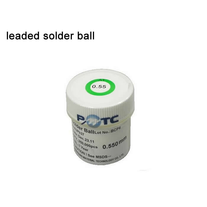 BGA reballing ball PMTC 250k leaded solder balls for bga soldering disoldering station repair 0.2mm-0.76mm pmtc 250k 0 5mm leaded free bga solder ball for bga repair