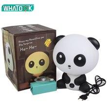Cartoon Dieren Night Lights Leuke Konijn Beer Panda Hond Bril Bunny Lampen Indoor Slaapkamer Led Verlichting Kinderen Lamp Gift Decor