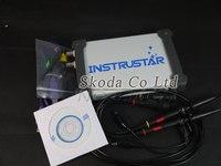 ISDS205A USB Dual Channel Digital oscilloscop 20 M de ancho de banda 48 M de Muestreo del analizador de Espectro + registrador de Datos