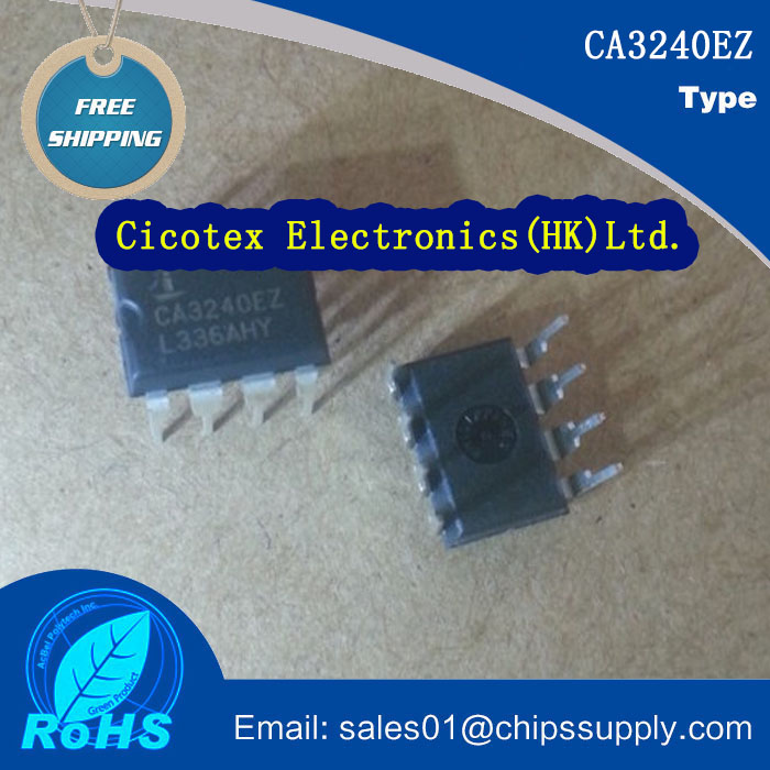 [Electronics Accessories] CA3240EZ IC OPAMP GP 4.5MHZ 8DIP