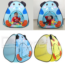 1pc Foldable Toy Tent Children Kids Baby Ocean Ball Pit Pool Tent Play Toy Tent House Play foldable baby playpen hexagon star moon balls pool pit indoor outdoor children baby toy game play house kids gift play tent