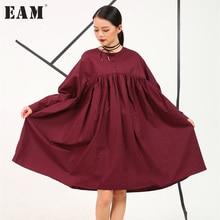 2017 весной и летом новый европейский и американский женская плюс размер рубашка с короткими рукавами сплошной цвет плюс размер full dress 8615xl