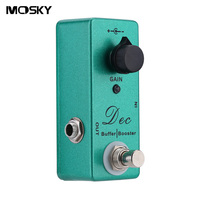 Mini Mosky Dec Buffer Booster Electric Guitar Effect Pedal With Single Knob Control And Clean Buffer