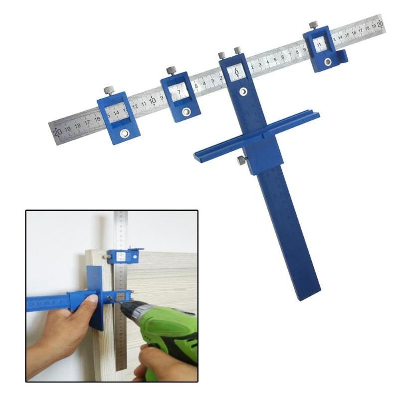 Drill Guide Sleeve Cabinet Hardware Jig True Position Tool Drawer Pull Jig Wood Drilling Dowelling Hole Saw Master System