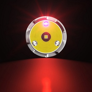 Image 2 - Yeni Nitecore MH27 el feneri CREE XP L HI V3 LED 1000LM RGB LED yüksek parlak Torch su geçirmez ücretsiz kargo