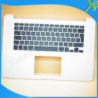 Новый TopCase с AZERTY клавиатура с французской раскладкой для MacBook Pro retina 15,4 A1398 2015 2016 лет