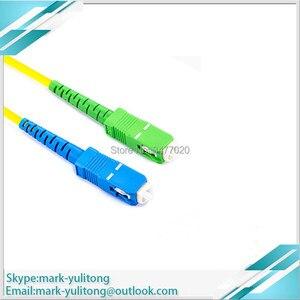 Image 2 - 3 м 5 м 10 м FTTH SC APC Волоконно оптический соединительный кабель SC / APC SC / APC или SC /UPC SC / UPC Волоконно оптический соединительный шнур SC UPC APC