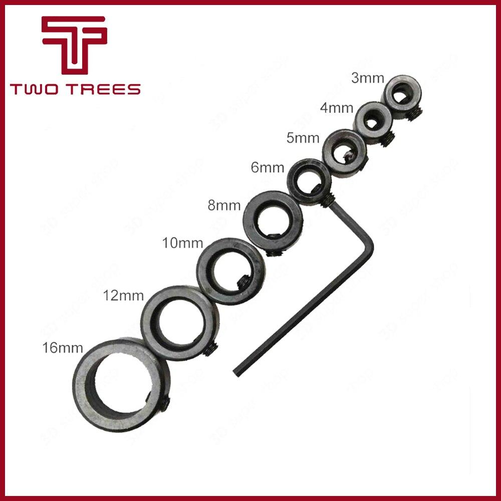 5pcs 8mm Lock Collar For T8 Lead Screw Lock Ring Lock Block 3D Printer Parts AM