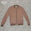 Коричневый цвет натуральной кожи куртка пальто мужчины ретро свиной мотоцикл moto куртки chaqueta hombre весте cuir homme cappotto LT057