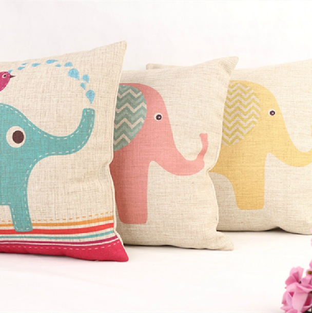 Sofa Free Delivery: Creative Carton Fashion Animal Elephant Style Bedding Sofa