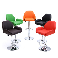 red color seat free shipping warehouse exhibition hall stool black furniture chair rotation  Car 4S shop reception hall chair