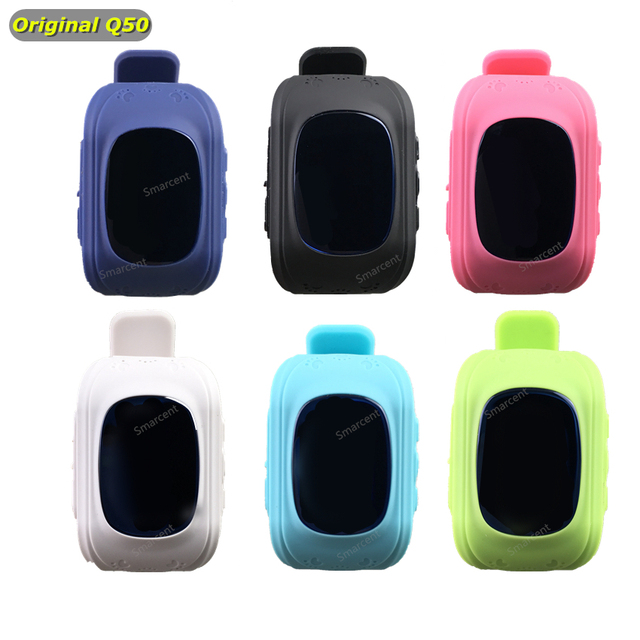 Originais Q50 GPS Inteligente Telefone Do Relógio do bebê Crianças Kid Relógio De Pulso GSM GPRS GPS Localizador Rastreador Anti-Perdida Smartwatch Criança relógio