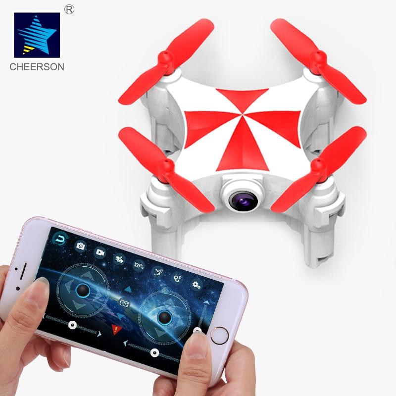 Cheerson CX-OF Wi-Fi 720MP HD 5,8 г FPV оптического потока режим танца мини селфи RC Quadcopter дроны вертолет игрушки