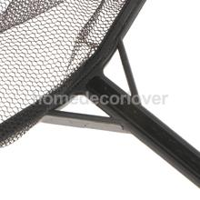 Aquarium Durable ABS Plastic Fishing Net Fish Shrimp with Handle Pond Tank Mesh Long Handle