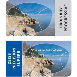 Image 5 - عدسات ZEISS التقدمية 1.50 1.60 1.67 1.74 عدسات النظارات متعددة البؤر (تحتاج إلى بيانات كاملة عن وصفة طبية مخصصة)