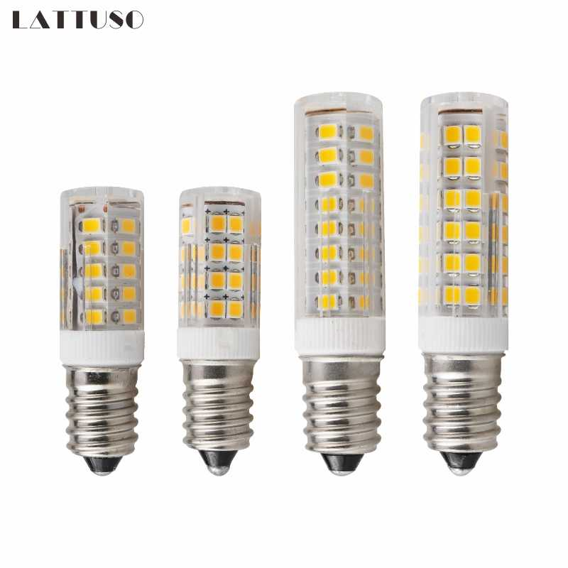 LED Lamp E14 3W 4W 5W 7W AC 220V 230V 240V Bombillas LED Light Corn Bulb SMD2835 Crystal Candle For Chandeliers Lighting